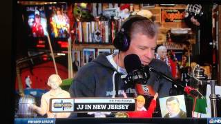 J. J. Cannon Talks with Dan Patrick on NBC Sports Network about Curt Schilling Twitter Backlash
