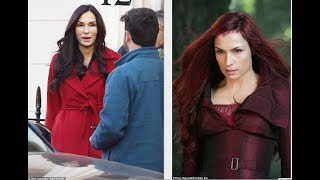 What has Famke Janssen done to her face? X Men star, 54, looks unrecognizable