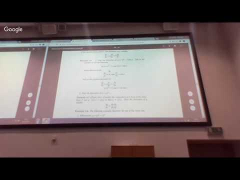 Mathematics Fundamentals: Properties of the derivative