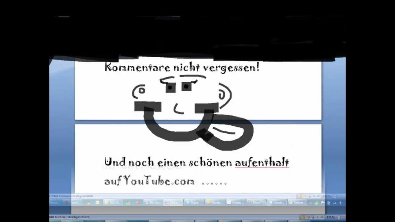 Wie macht man einen Screenshot? Deutsch - YouTube