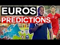 EURO 2020 PREDICTIONS (Early Predictions)