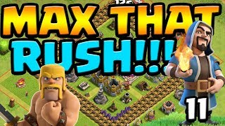 HOGS & HOUNDS!? MAX That RUSH ep11 | Clash of Clans