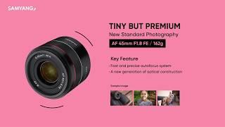 Samyang AF 45mm f1.8 FE for Sony Samyang 45mm f1.8 FE for Sony E Mount GARANSI RESMI