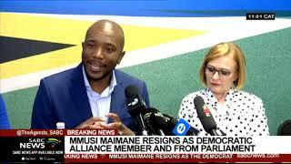 Analysis | Unpacking  Mmusi Maimane resignation