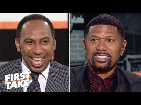 Stephen A. and Jalen Rose agree Shaq is winning the rap battle vs. Damian Lillard | First Take