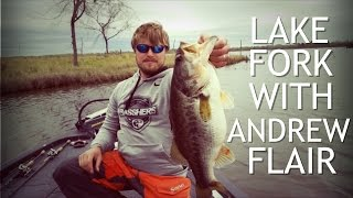 Bass Fishing on Lake Fork ft. Andrew Flair