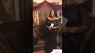 Ibrahim Mahama donating $5000 at his girlfriend's funeral in Atlanta Georgia. U S