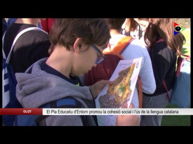 Olot, ciutat educadora: PLA EDUCATIU D'ENTORN