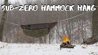Beginners Guide to 0° Haṁmock Camping