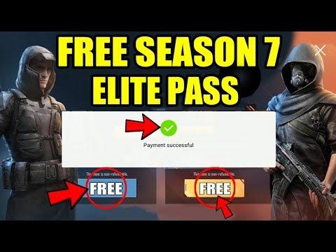 HOW TO GET FREE SEASON 7 ELITE ROYALE PASS ? FREE SEASON 7 ELITE PASS IN PUBG MOBILE !