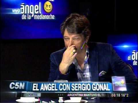 C5N - EL ANGEL DE LA MEDIANOCHE CON SERGIO GONAL (PARTE 1)