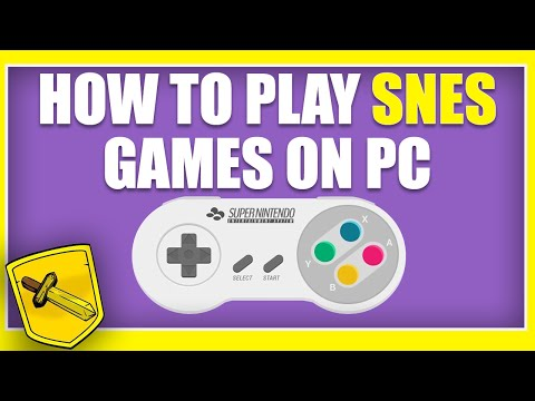 HOW TO PLAY SNES (SUPER NINTENDO) GAMES ON YOUR PC (2016