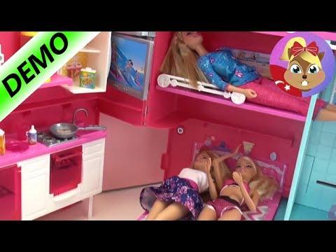 Barbie Ve Arkadaşları Kamp Arabada - Tatlı Oyuncak Arabası