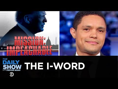Mueller Passes the Impeachment Buck to Congress   The Daily Show