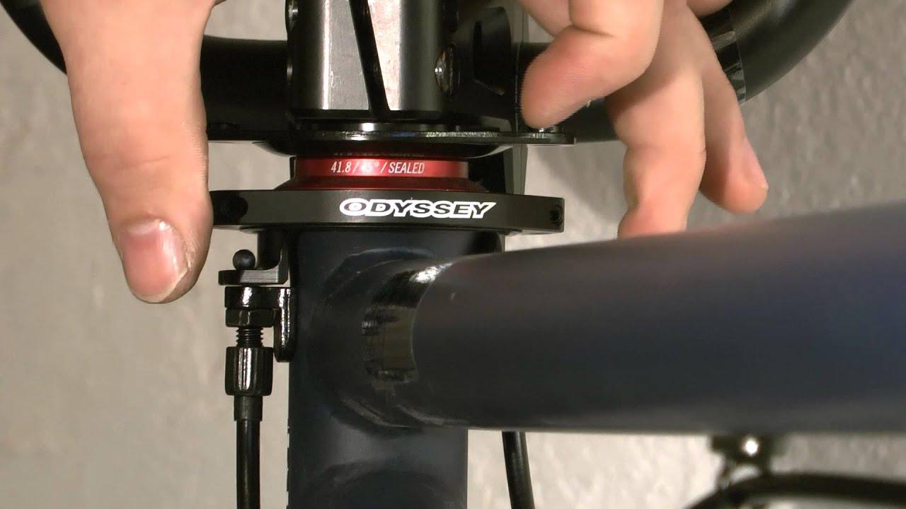 si bmx werkstatt -rotor montieren und einstellen - youtube