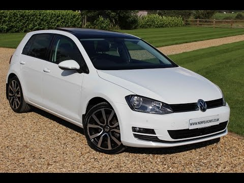 2014 Volkswagen Golf GT TDi White Panoramic Roof