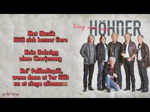 Höhner -  Sing mit mir