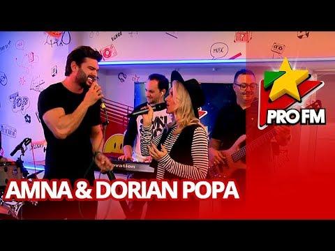 Amna feat. Dorian Popa - Nu poti sa ma uiti | ProFM LIVE Session
