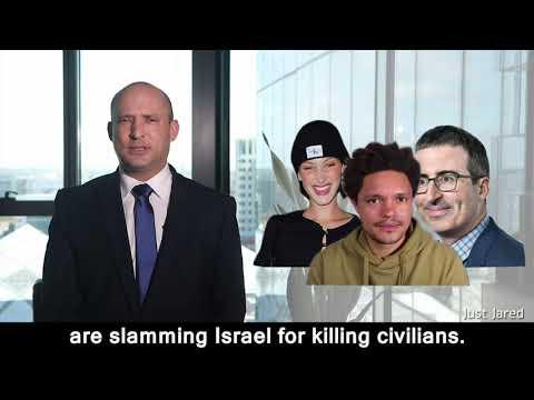 Bella Hadid, Trevor Noah & John Oliver: What would you do?Israel's former Defense Minister Bennett