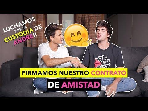 FIRMAMOS NUESTRO CONTRATO DE AMISTAD - The Tripletz