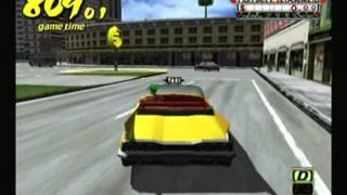 Nate Fails at 3 Lefts, Make a Right Challenge - Crazy Taxi (Dreamcast)