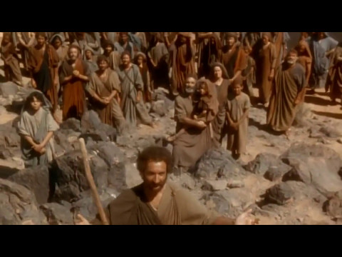 The Ten Commandments (movie 1956) - Moses and Sephora ...  Moses The Movie Youtube