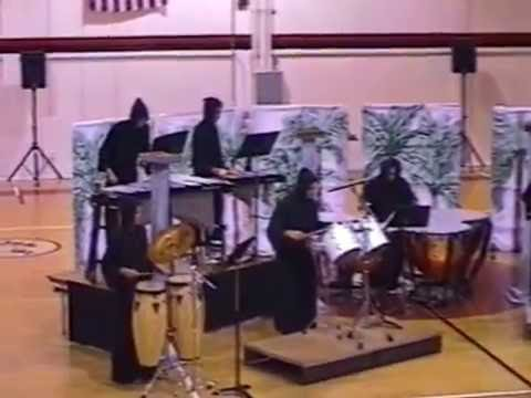Death By Oooga Booga - 1997 Cape Coral High School Indoor Percussion Ensemble