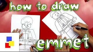 How To Draw Emmet From The Lego Movie thumbnail