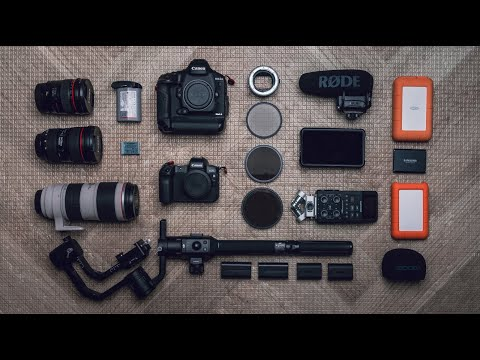 What's in my CAMERA BAG!? | 2020 FILMMAKING in South Korea