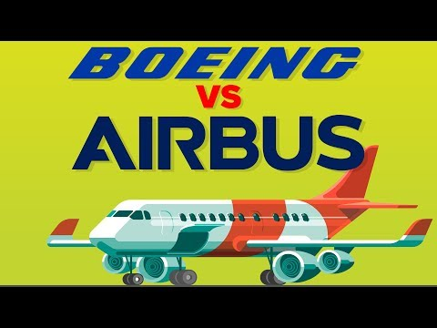 Boeing vs Airbus - How Do They Compare - Airplane Company Comparison