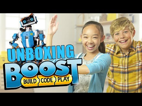 LEGO BOOST Robot Review- The Build Zone