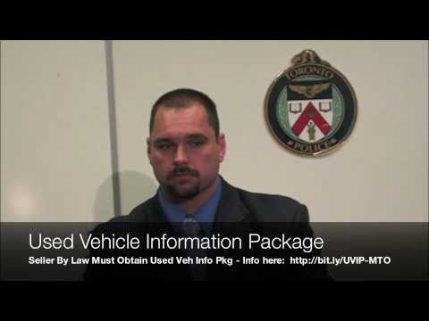 Kijiji Used Car Fraud Scam Arrest-Victims Call Toronto Police 416-808-1300