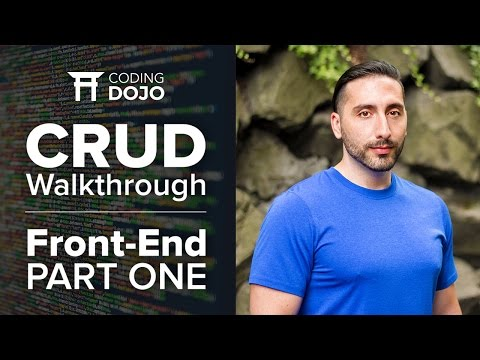 CRUD Walkthrough with Angular v4  | Part 1: Front-End