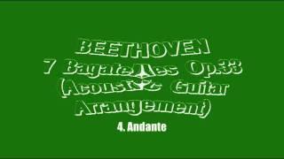 Beethoven - 7 Bagatelles, Op.33 (Acoustic Guitar)