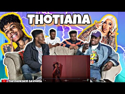 Blueface - Thotiana Remix ft Cardi B Dir by ColeBennettReaction