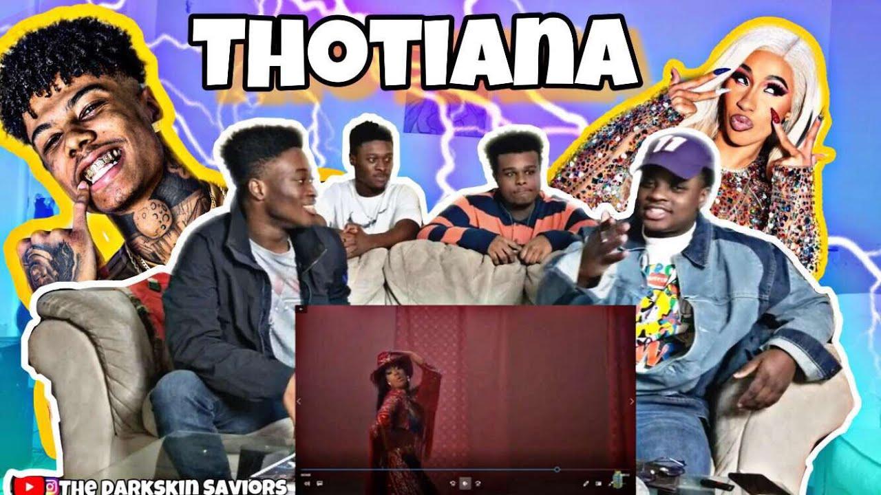 Download Blueface - Thotiana Remix ft. Cardi B (Dir. by @_ColeBennett_)(Reaction)