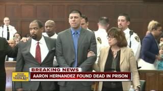 Aaron Hernandez found dead in prison