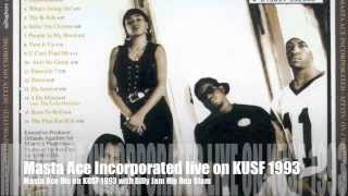 Masta Ace Incorporated live on KUSF, 1993