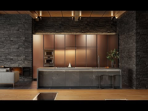 Kitchen For A Luxury House In Sydney By ADVANCE