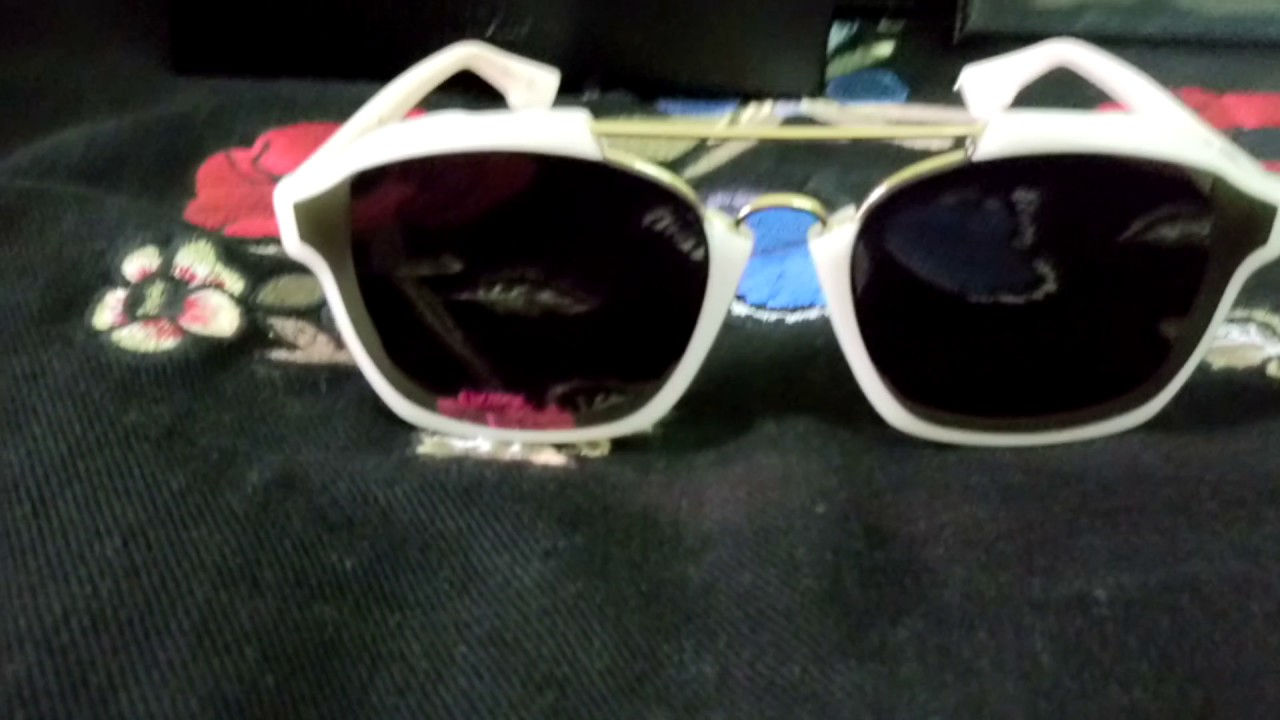 78cec0c779a8 Dior sunglasses 😎 abstract milk - YouTube