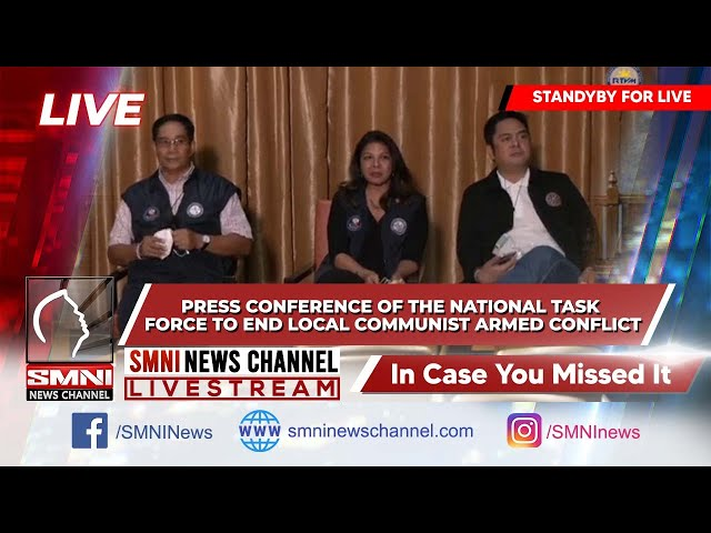 ICYMI: The National Task Force to End Local Communist Armed Conflict