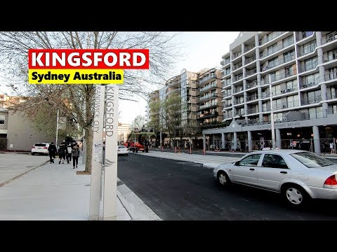 KINGSFORD - Sydney Australia | Kingsford City Centre Walking Tour Spring 2019