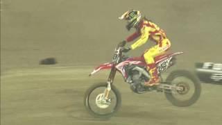 Tim Gajser crash Monster Energy SMX Riders' Cup Race 2 VELTINS-Arena 2016