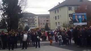 Moment unic in Cugir ! Iohannis presedinte
