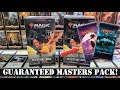 MTG Walmart Mystery Box Masters Booster Packs!