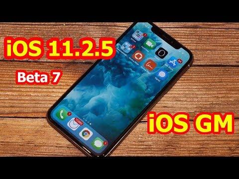 Đánh giá iOS 11.2.5 beta 7 - bản beta cuối cùng (iOS GM) Nên cập nhật