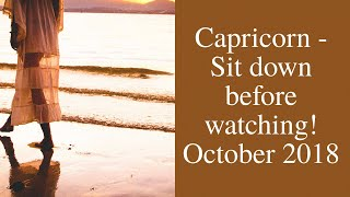 Capricorn October 2018 Who is Your Future Partner Tarot Reading | Extended Forecast