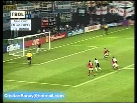 Inglaterra 1 Argentina 0 Mundial Corea Japon 2002 (Relato Mariano Closs)