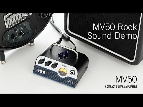 The VOX MV50 – Rock Demo