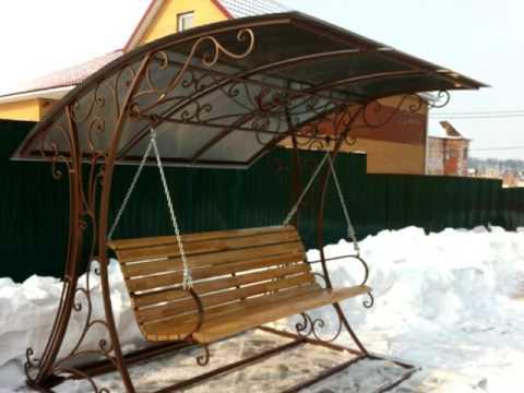 Качели 13  Садовые качели для дачи в Днепропетровске